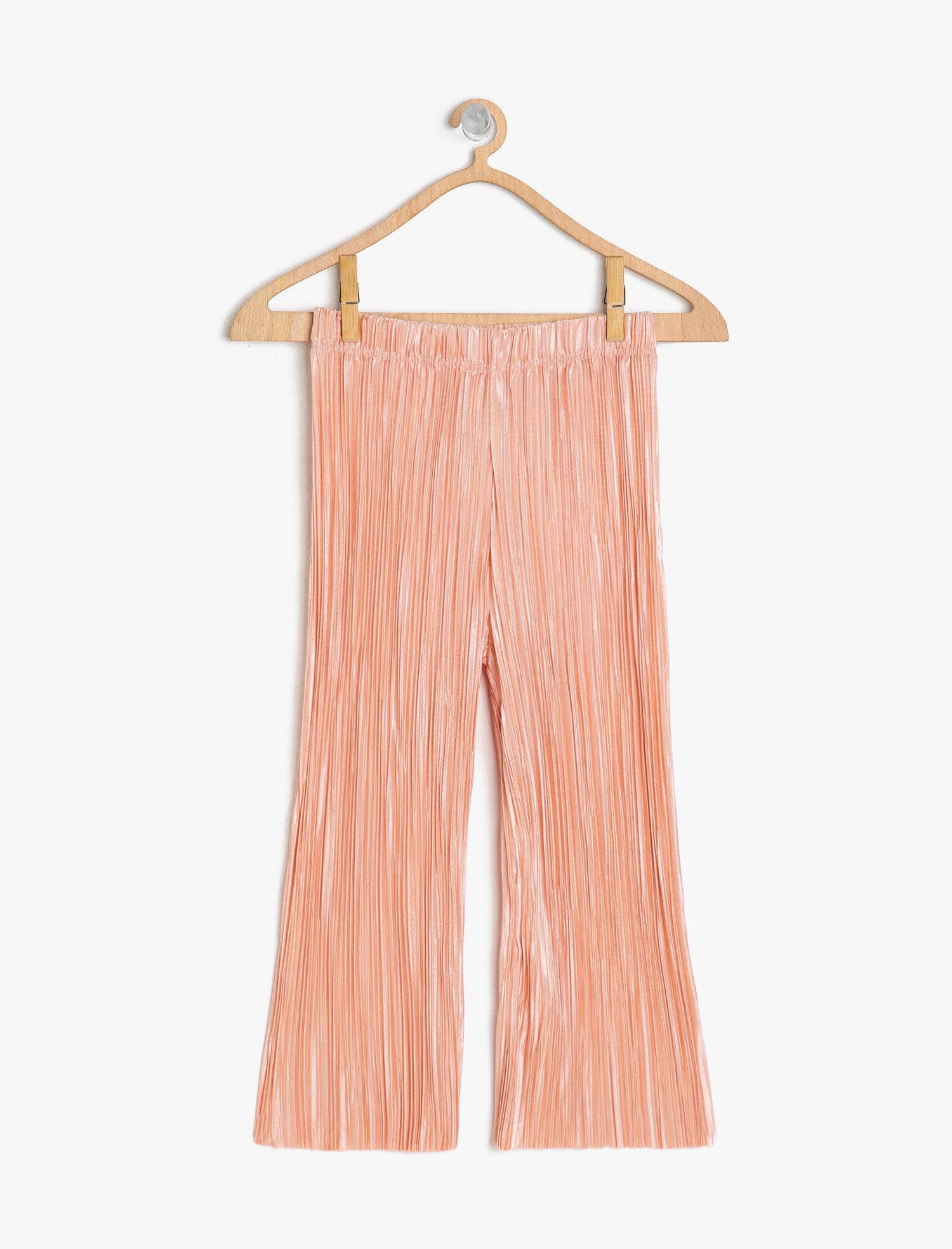 Koton Kız Çocuk Normal Bel Pantolon Pembe Ürün Resmi